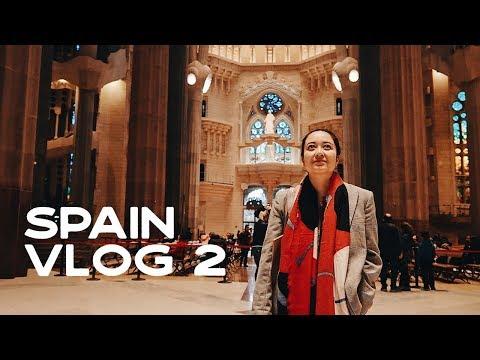 SPAIN VLOG part 2: Barcelona / charging tips for travel