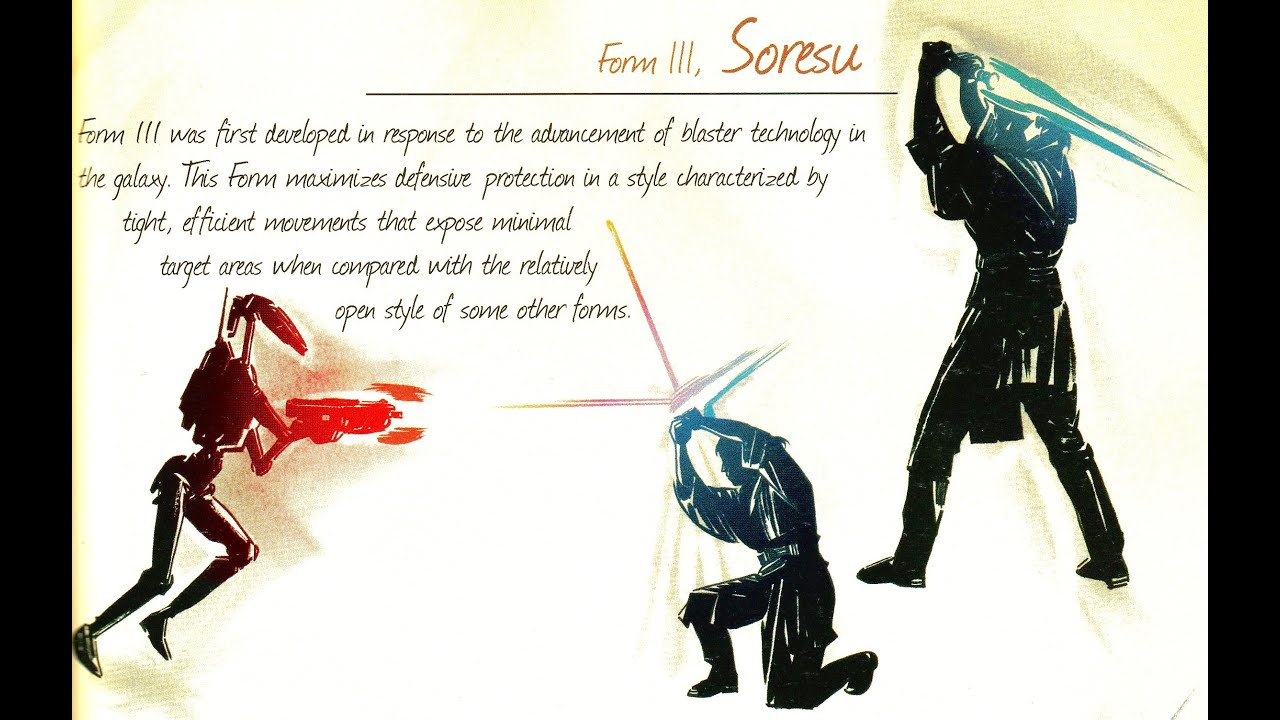 Form III: Soresu - Description & Analysis - YouTube