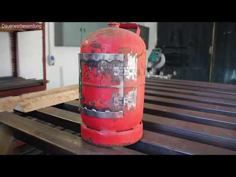 Grosser Outdoor Ofen Aus Gasflasche Selber Bauen