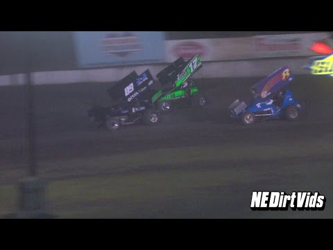 Highlights: Sprint Cars of New England at Bear Ridge Speedway June 13th, 2015