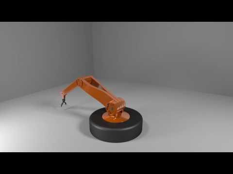 Maya 3D - Robot Arm