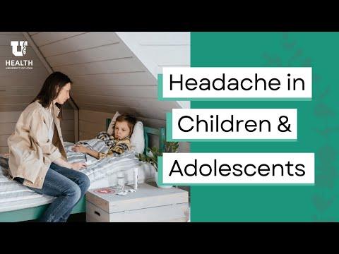 Headache School LIVE: Headache in Children & Adolescents