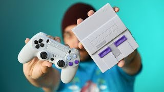 Tried an SNES mini with PS4 Controller!