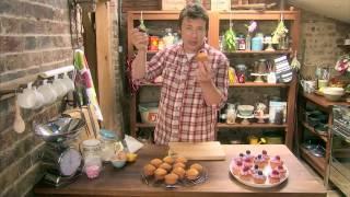 Маленькие апельсиново-лимонные кексы от Джейми Оливера