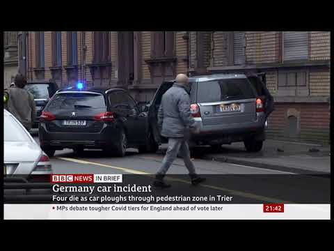 Car accident & MEP caught red-faced & quits (Germany & Hungary) - BBC News - 1st December 2020