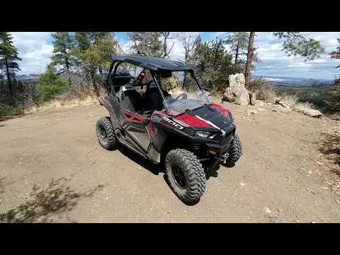 """Tusk Terrabite UTV tires on a 50"""" RZR 900 EPS Trail. Detailed owner review and trail footage."""
