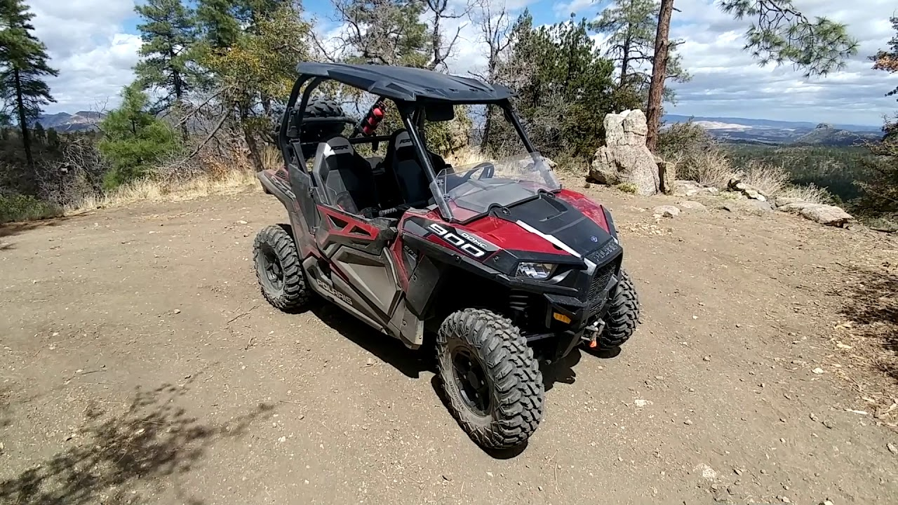 tusk terrabite utv tires on a 50 rzr 900 eps trail detailed owner review and trail footage  [ 1280 x 720 Pixel ]