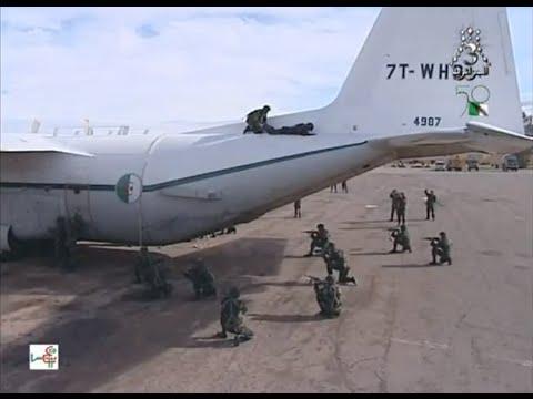 الجيش الجزائري(وحدات التدخل القوات الخاصة)Special units of the Algerian army to intervene