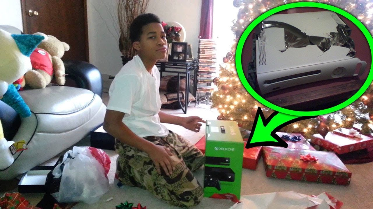 Top 5 CHRISTMAS PRESENT Pranks (Kids Reacting to Funny ...