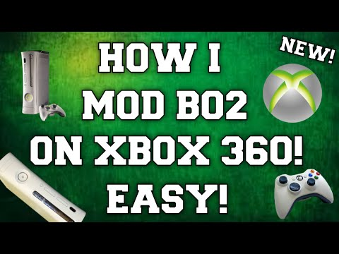 HOW I MOD BLACK OPS 2 ON XBOX 360! (EASY STEPS!)