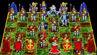 Battle Chess (MPC version) gameplay (PC Game, 1992)
