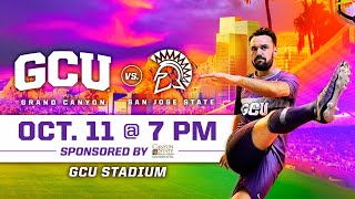 Gambar cover GCU Men's Soccer vs San Jose State October 11, 2019