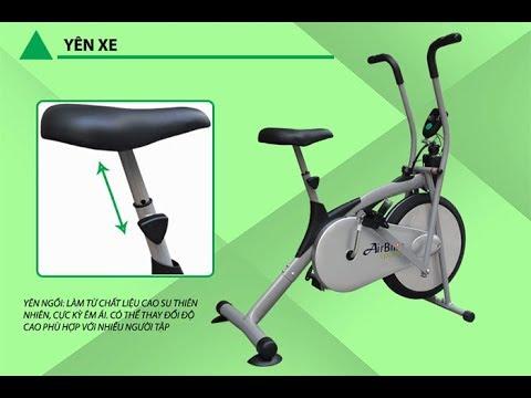 Xe đạp Tập Thể Dục Air Bike Cho Người Già Vận động Tay Chân Tại Nhà