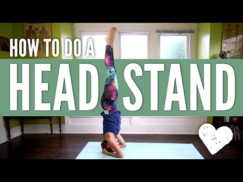 Head Stand Yoga Pose - How To Do A Headstand For Beginners