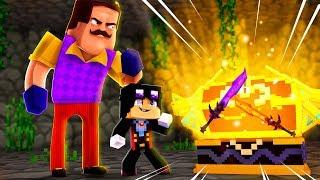 Minecraft: HELLO NEIGHBOR - O BAÚ DO GUERREIRO LENDÁRIO!!!! | EP 56
