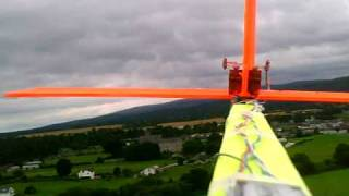 Home Made Balsa Rc Glider Plane Maiden