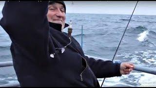 Морская рыбалка Б-Днестровская банка 18.11.2018 года. Судно''Виктория''