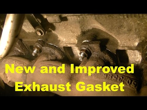 Ford 4.6 Exhaust Manifold Gasket fix. How I fixed that Ticking exhaust sound...