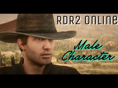 RDR2 Online Super Good-Looking Male Character Creation