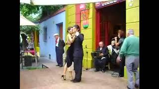 Аргентинское Танго в Баре Буэнос-Айреса в 2009 году.