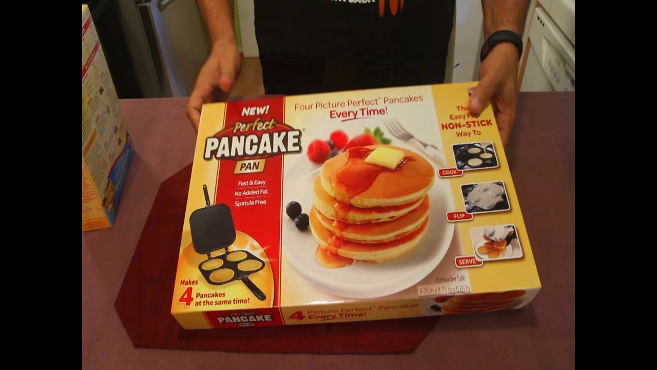 Perfect pancake pan as seen on tv youtube ccuart Choice Image