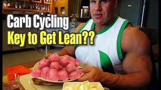JAY CUTLER-CARBS CYCLING TO GETTING LEAN?