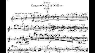MAX BRUCH - Violin Concerto No. 2 in D minor, Op. 44 - Rudolf Koelman