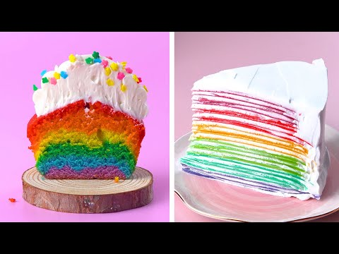 Easy Making Colorful Cake Ideas You'll Love | So Yummy Dessert Recipes | Dessert Hacks By So Tasty