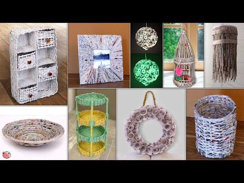 Paper Craft !!! Personal & Home Usefull DIY Room Decor