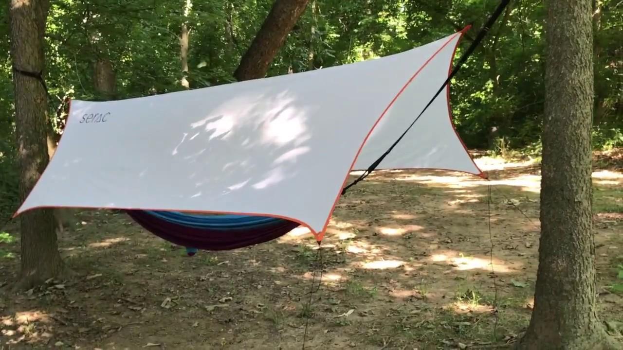 how to setup a serac overhang hammock tarp how to setup a serac overhang hammock tarp   youtube  rh   youtube