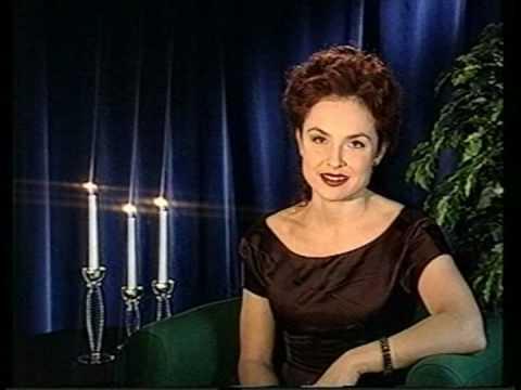 SVT1-hallåa Justine Kirk 1996-12-31