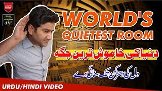 World's Quietest Room | Total Silence Can Drive You Crazy | Pin Drop Silence Experience |