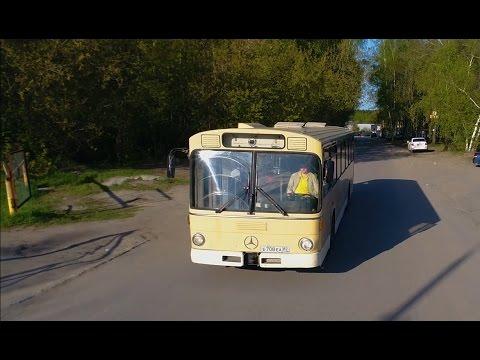 MERCEDES-BENZ O305 ЛЕГЕНДАРНЫЙ НЕМЕЦКИЙ АВТОБУС В РОССИИ