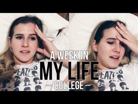 A WEEK IN MY LIFE - ARIZONA STATE COLLEGE VLOG   Sydney Joz