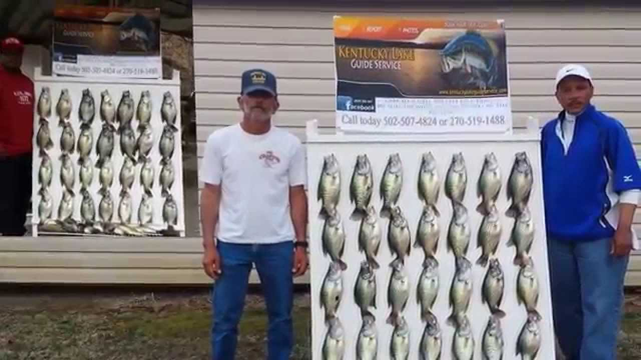 Kentucky lake crappie fishing trip 2014 youtube for Kentucky lake crappie fishing report