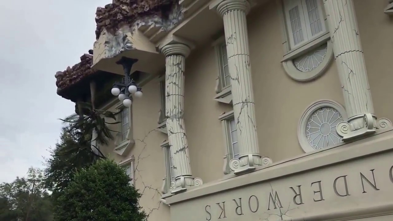 Wonderworks Orlando, Florida Upside Down House, Bubble Lab, And Games