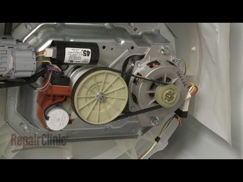 Whirlpool Top-Load Washer Won't Spin? Drive Belt #W10006384