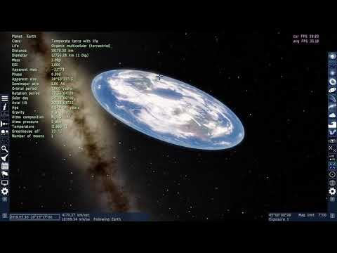 Making the Earth Flat in Space Engine thumbnail