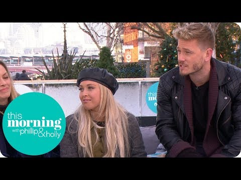 Dancing on Ice Stars Matthew Wolfenden and Jorgie Porter Have Still Got It!  This Morning
