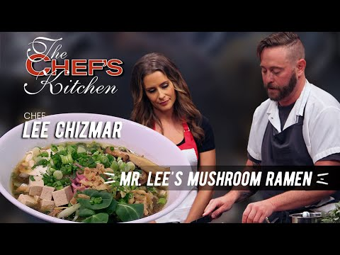 Chef Lee Chizmar - Mr. Lee's Mushroom Ramen