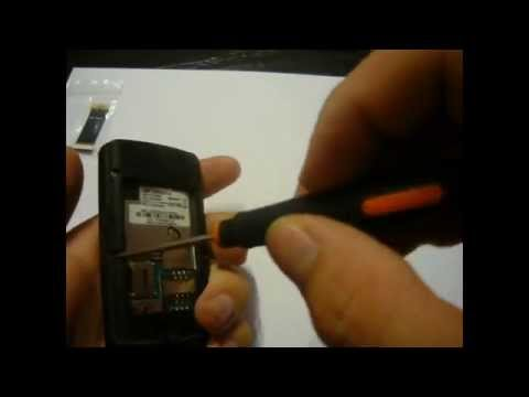 Samsung S3500 Disassembly & Assembly - Digitizer, Screen & Case Replacement Repair