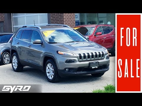 2016 Jeep Cherokee North - Pre Owned Gyro Special