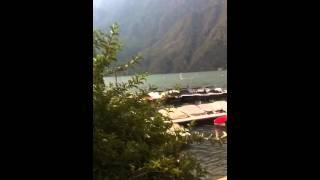 Windsurfing Lugano Lake, porlezza, camping Darna
