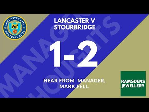 Lancaster 1 Stourbridge 2