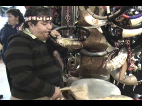 Mapuche Musical Instruments And Music Temuco Chile Youtube