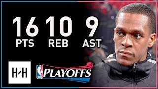 Rajon Rondo Full Game 2 Highlights Pelicans vs Blazers 2018 Playoffs - 16 Pts, 10 Reb, 9 Assists!