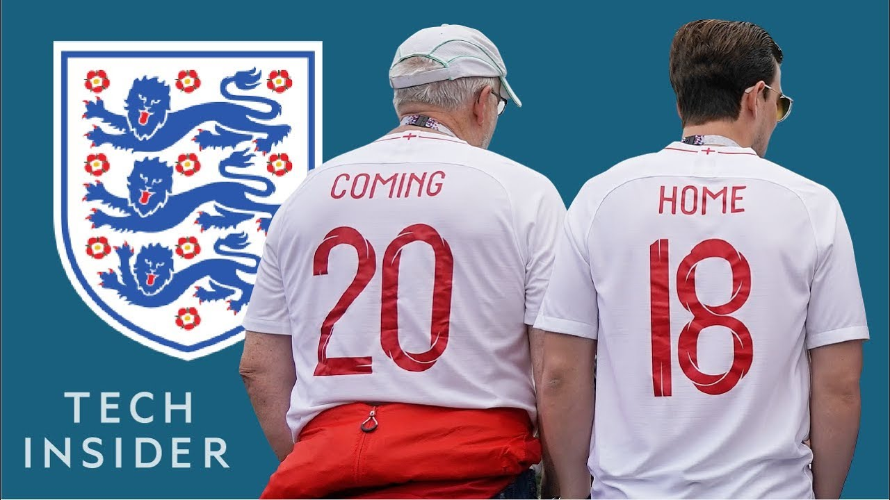 photo Its coming home: England fans explain the World Cup rallying cry