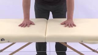 Массажный стол Art of Choice MIA(Двухсекционный деревянный массажный стол MIA - http://artofchoice.com.ua/ru/catalog/2sectionwood/mia Складной массажный стол MIA..., 2013-09-23T08:14:02.000Z)