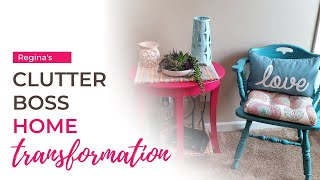 Clutter Boss Home Organization Transformation - Regina