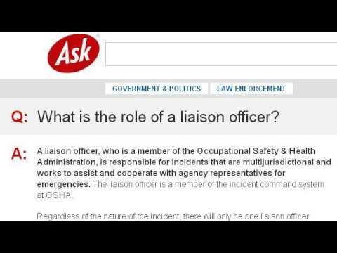 Court Liaison Officer Duties